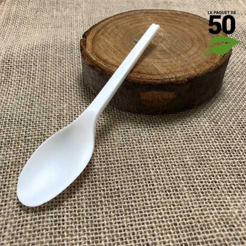 Grande cuillère CPLA Biodéégradable Par 50