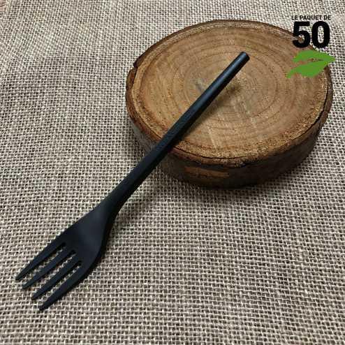 Fourchette Bio CPLA Noir x 50