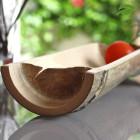 Coupelle en bambou 28 cm