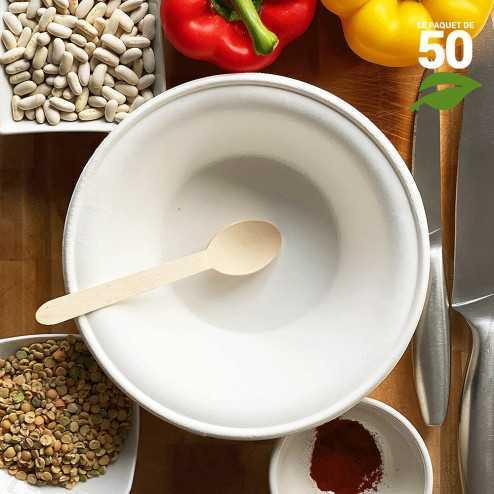 Bol - Saladier 95cl Biodégradable Par 50
