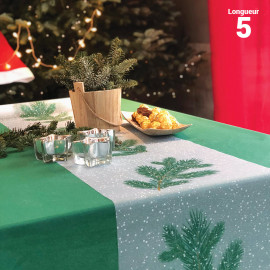 Chemins de table Branches de sapin 5 m
