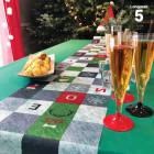 Chemins de table mosaïque Noël 5m