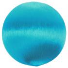 12 Boules en fil scintilant turquoise 3 cm