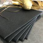Serviette en non-tissé noir 40 x 40cm