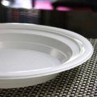 Assiette chaleur creuse 21cm. Recyclable - Réutilisable. Par 50