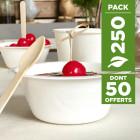 Pack 200 coupelles Bio 25cl + 50 gratuites