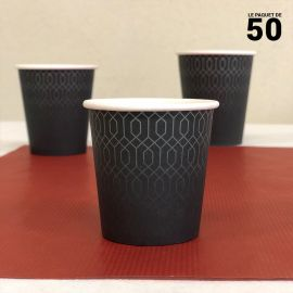Gobelet carton graphite 12cl Par 50