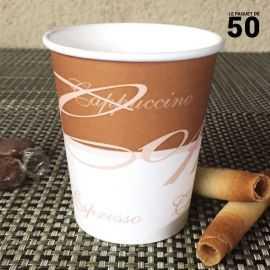 Gobelet à café en carton 20/24 cl