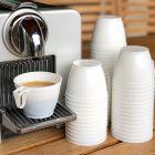 50 Tasses blanches 18 cl Recyclables - réutilisables