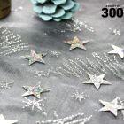 Confettis étoiles holographiques argent