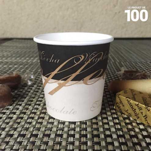 Gobelet à café en carton 10/12 cl