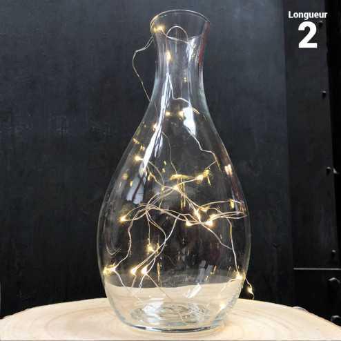 Guirlande lumineuse 20 LEDS 2 mètres