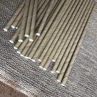 Pailles papier Kraft 20 cm Biodégradables. Par 25