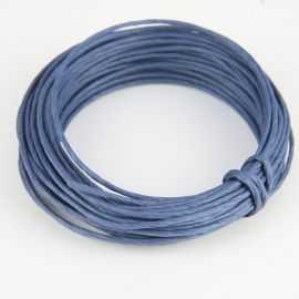 Corde en papier laitonné bleu 10 mètres