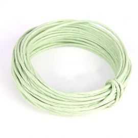 Corde en papier laitonné vert 10 mètres
