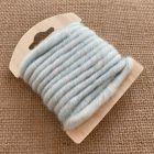 Cordon en laine déco bleu clair 3 mètres