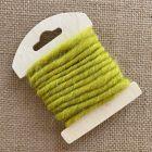 Cordon en laine déco vert 3 mètres