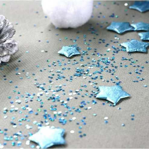 Paillettes de table Turquoise