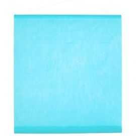 Tenture de salle bleu clair 0,70 x 8 mètres