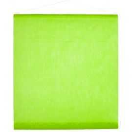 Tenture de salle verte 0,70 x 8 mètres