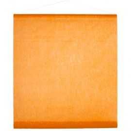 Tenture de salle orange 0,70 x 8 mètres
