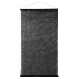 Kakémono non-tissé noir 1m x 2,50 mètres