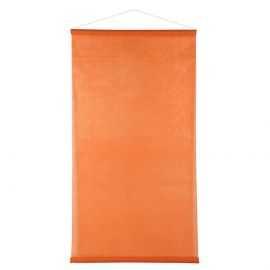 Kakémono non-tissé orange 1m x 2,50 mètres