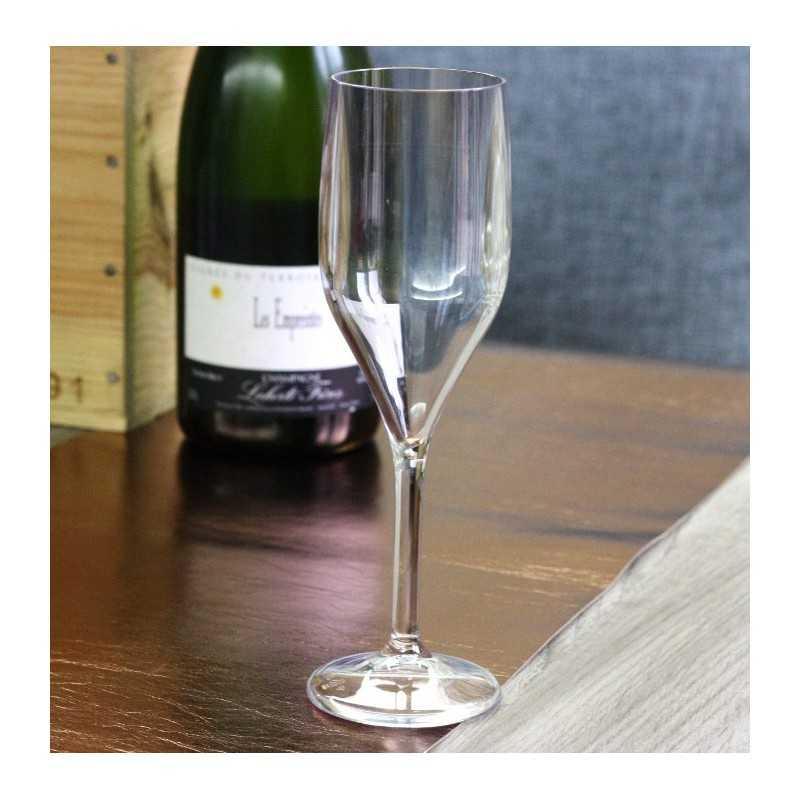 fl te champagne incassable 15 cl vaisselle jetable discount. Black Bedroom Furniture Sets. Home Design Ideas