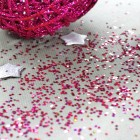 Paillettes de table Rose