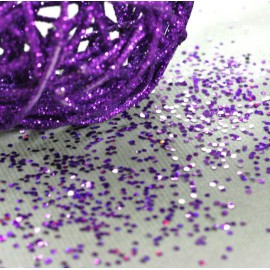 Paillettes de table Violet
