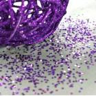 Paillettes de table Violet