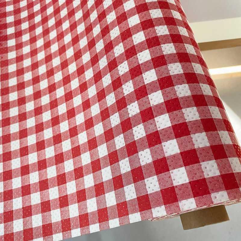 Rouge//multicolore tartan carreaux laine pure tissu pour ameublement//rideaux royaume-uni tissé