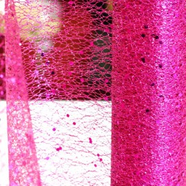 Chemins de table Glitter Fuchsia