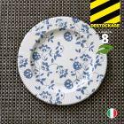 8 Assiettes carton bleu 20 cm. Biodégradables et compostables.