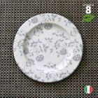8 Assiettes carton gris 20 cm. Biodégradables et compostables.