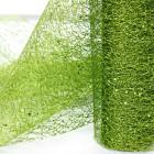 Chemins de table Glitter Vert