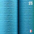 Nappe papier tendance lin turquoise. 25 mètres.