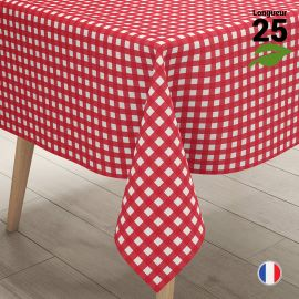 Nappe Vichy 25 mètres Biodégradable - compostable