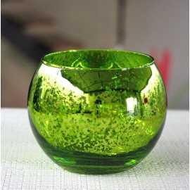 Photophore de table Vert boule