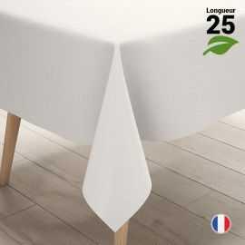 Nappe blanche 25 mètres. Biodégradable - Compostable.