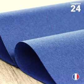 Chemins de table en non-tissé bleu marine. 24 mètres.