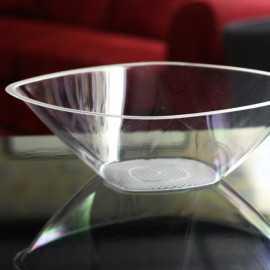 Saladier en plastique transparent 300 cl