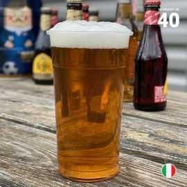 40 Gobelets bière 50 cl. Recyclables - Réutilisables.