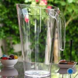 Carafe cristal 1,5 litres. Lavable - Réutilisable.