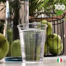 Gobelet PLA biodégradable et compostable. 20 cl. Par 100.