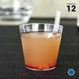 Verrine lounge cristal 6 cl Recyclable - Réutilisable. Par 12