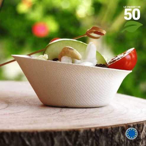Verrine Biodégradable Mini-Cup. Par 50.
