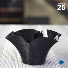 Verrine Pétunia noire 7 cl. Recyclable - Réutilisable. Par 25.