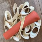 24 Ronds de serviettes en bambou naturel 12 cm