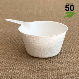 Verrine biodégradable Mini-caquelon Par 50